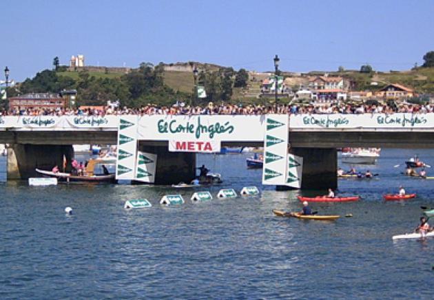 Ziel-Brücke von Ribadesella