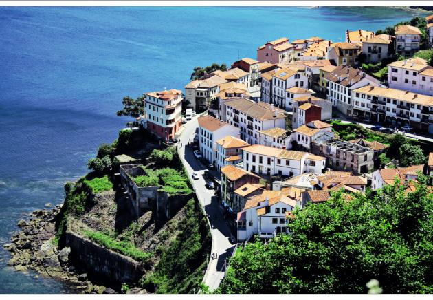 Lastres, village marin
