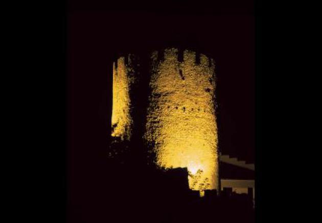 Mittelalterliche Festungsturm